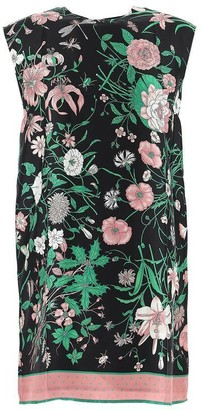 Gucci Flora Printed Tunic Top