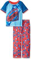 Justice League Big Boys Batman Vs Superman 2 Pc Pant Set, Black