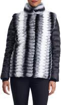 Gorski Mink Fur Jacket w/ Detachable Puffer Sleeves