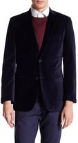 U.S. Polo Assn. Jim Blue Two Button Notch Lapel Modern Fit Suit Separates Sports Coat