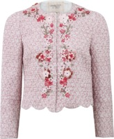 Giambattista Valli Jeweled Tweed Jacket