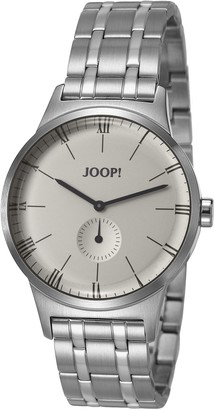 JOOP! Joop Jack Men's Quartz Watch with Silver Dial Analogue Display and Silver Stainless Steel Bracelet JP101741003