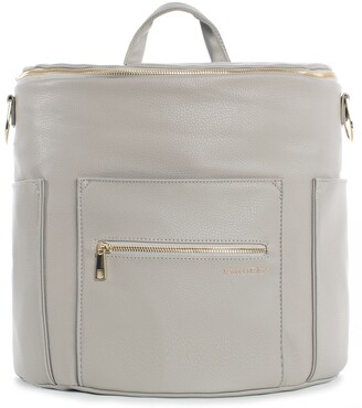 Fawn Design The Original Convertible Water Resistant Faux Leather Diaper Bag
