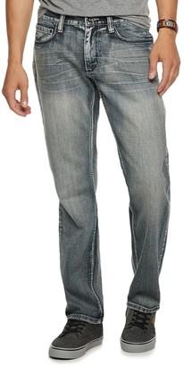 Men's Urban Pipeline Relaxed Straight-Leg Medium Wash Jeans