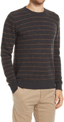 Billy Reid Stripe Crewneck Sweater