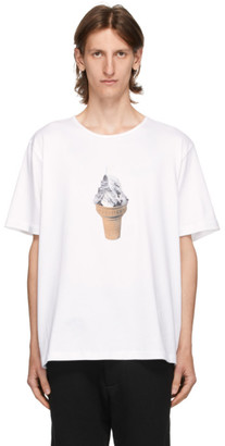 Goodfight White Ice Cream Mountain T-Shirt