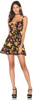 Free People Lattice Lovers Slip Dress