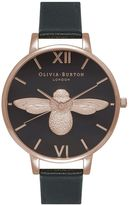 Olivia Burton **Animal Motif Moulded Bee Watch