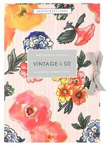 Heathcote & Ivory Vintage and Co Patterns and Petals Scented Drawer Liners, Pack of 6