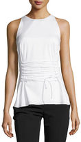 The Row Tallo Sleeveless Lace-Up Top
