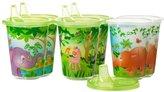 Evenflo Zoo Friends Convenience Sippy Cups - Multicolor - 10 oz - 6 ct