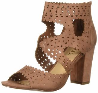 XOXO Women's Bowery Heeled Sandal