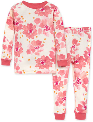 Burt's Bees Sprinkling Petals Organic Baby Snug Fit Pajamas