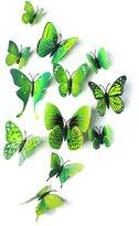 Imixshopcs 12 Pieces 3D Butterfly Stickrs Fashion Design DIY Wall Decoration House Decoration Babyroom Decoration