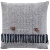 """Pendleton Herringbone Decorative Pillow - 18\"""" x 18\"""" - Navy"""