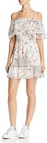 WAYF Daria Cold-Shoulder Ruffle Dress - 100% Exclusive