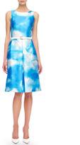 Michael Kors Cloud-Print Dress
