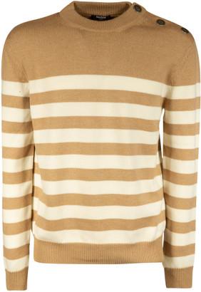 Balmain Stripe Knit Jumper