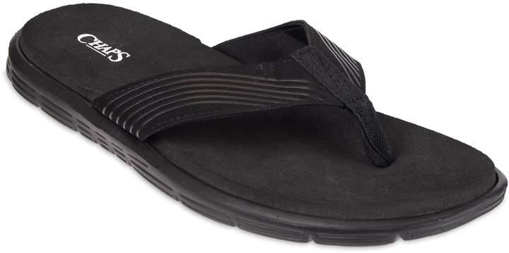 badbe7de89471 Men's Striped Thong Sandals