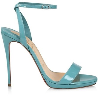 Christian Louboutin Loubiqueen Patent Leather Sandals