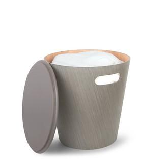 Umbra Woodrow Storage Stool - Grey