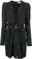 Saint Laurent polka dot dress - women - Viscose - 40