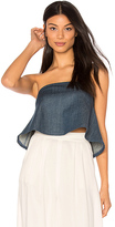 Clayton Marina Denim Joy Top in Blue. - size M (also in S)