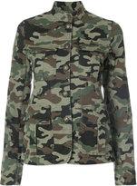 Nili Lotan camouflage jacket - women - Cotton/Spandex/Elastane - XS