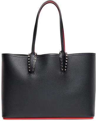 Christian Louboutin Cabata small black leather tote
