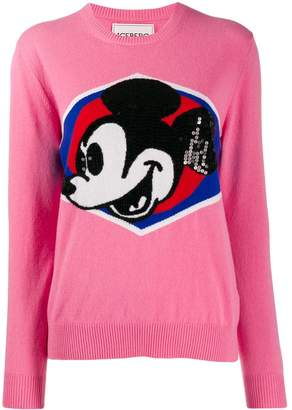 Iceberg Mickey knit jumper