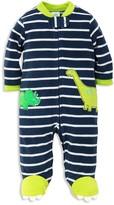 Little Me Boys' Dino Microfleece Sleeper