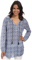 Jag Jeans Clara Tiki Cotton Relaxed Fit Tunic