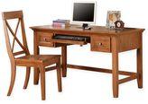 Steve Silver Co. Oslo Desk and Chair Set in Oak