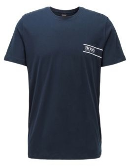 BOSS Relaxed-fit cotton underwear T-shirt with chest logo