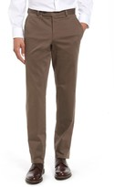 Ted Baker Men's Jerome Flat Front Stretch Cotton Trousers