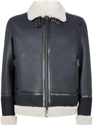 Ermenegildo Zegna Aviator Shearling Jacket