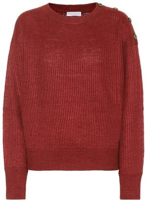 Brunello Cucinelli Linen and silk sweater
