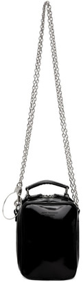 Junya Watanabe Black Steer Glass Glossy Bag