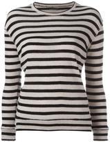 Majestic Filatures striped jumper - women - Cashmere/Merino - 4