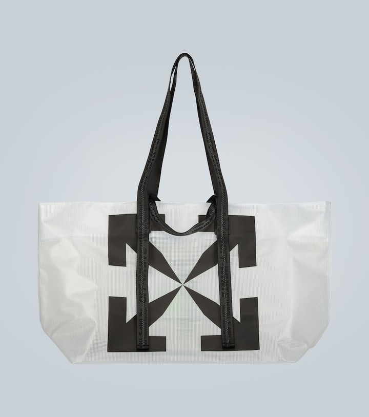 Off-White Off White Transparent Commercial tote bag