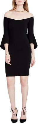 Rachel Roy Lynette Off-The-Shoulder Sheath Dress