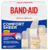 Johnson & Johnson Band-Aid® 80-Count Assorted Sheer Bandages