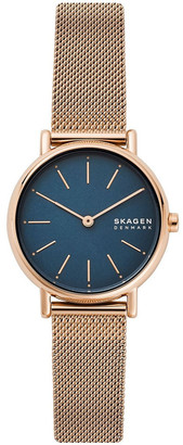 Skagen Signatur Rose Gold-Tone Analogue