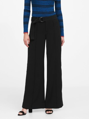 Banana Republic High-Rise Wide-Leg Utility Pant