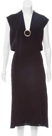 Derek Lam Silk Studded Midi Dress w/ Tags