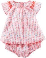 Osh Kosh Oshkosh Baby Bgosh Heart-Print Babydoll Set - Baby Girls newborn-24m