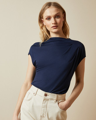 Ted Baker POPEEY Cowl detail jersey T-shirt