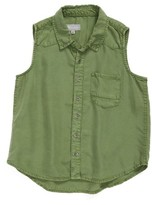 Tractr Girl's Chambray Shirt