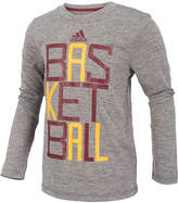 adidas Basketball Graphic-Print Shirt, Little Boys (4-7)