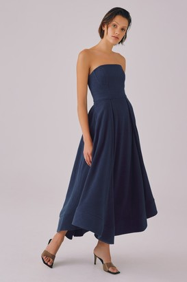 C/Meo CLEAR MESSAGE DRESS navy